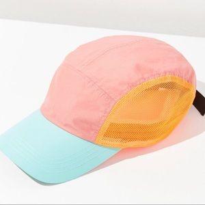 eec5d068214b4 UO Adjustable Cap 5-panel Baseball Orange Hat OS